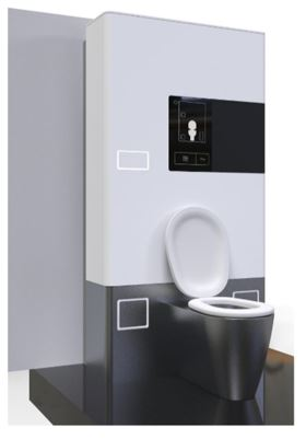 Image of the HTClean toilet